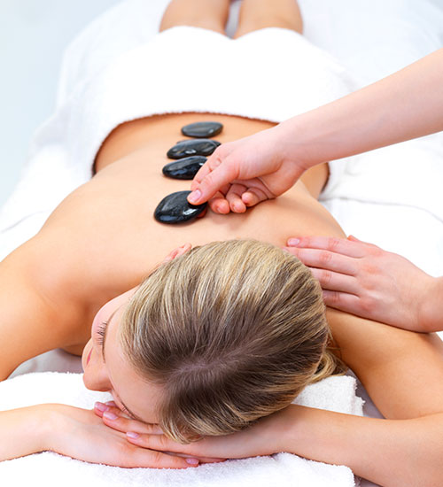 Vivo Salon and Spa Hot Stone Massage